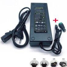 12 v 12.5a 12.5 amp 150 w dc ue/eua reino unido au adaptador de alimentação transformador led strip luz