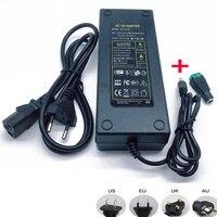 Adaptador de fuente de alimentación de 12V, 12,5a, 12,5 amp, 150W, DC, EU/US, UK, AU, tira de luz LED transformador