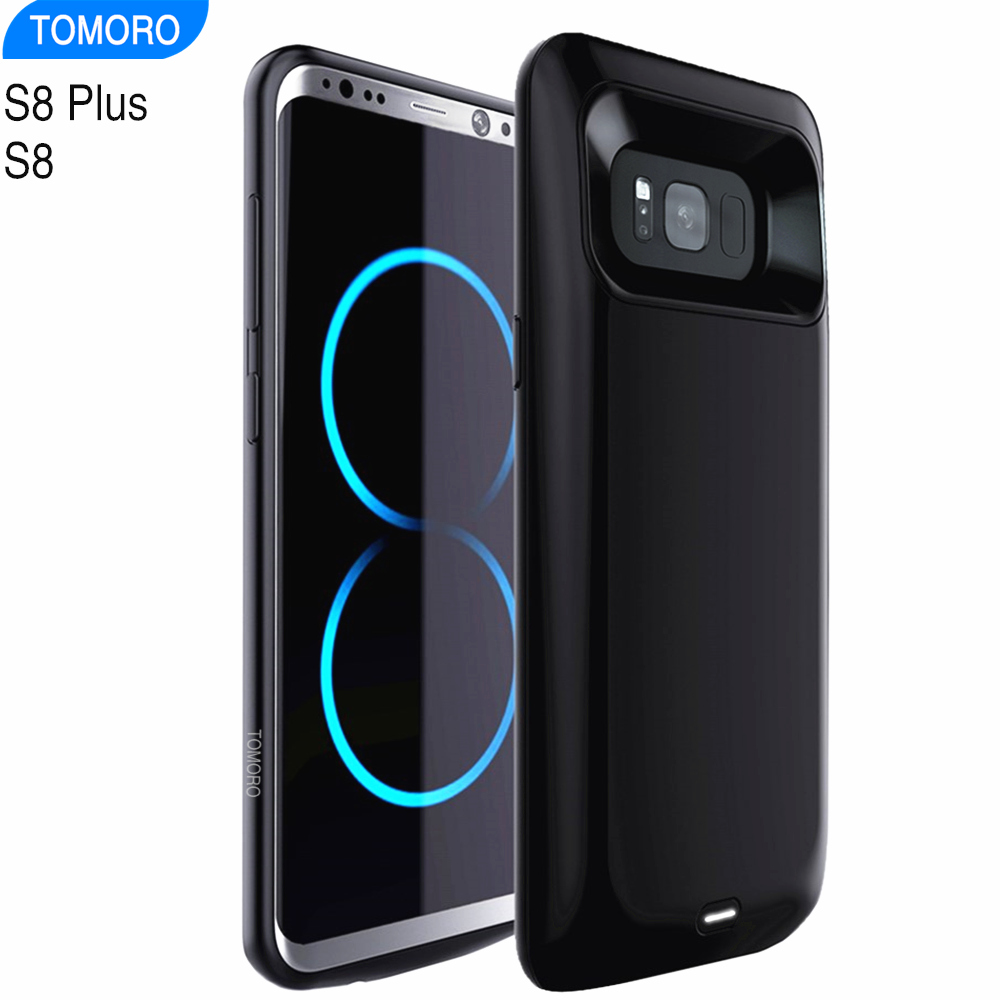 promo code 27f06 d32ed US $19.98 20% OFF|S8 Battery Case For Samsung Galaxy S8 Plus Battery  Charger Case Power Bank Pack External Charger Cover S 8 Plus Backup  Extra-in ...
