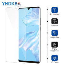 9H Tempered Glass For Huawei P30 Lite Screen Protector Protective Film on Huawei P20 Pro P10 Lite Plus P Smart 2019 Glass Case(China)