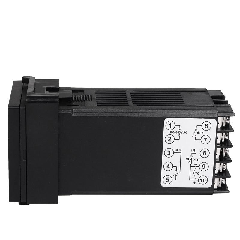 Dvigubas skaitmeninis RKC PID temperatūros valdiklis REX-C100 su - Matavimo prietaisai - Nuotrauka 5