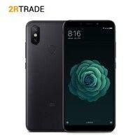 Оригинальный Xiaomi Mi 6X4/6G RAM 64G ROM 5,99 18:9 полный Экран Snapdragon 660 Octa Core 20MP AI двойной Камера 4G мобильный телефон LTE