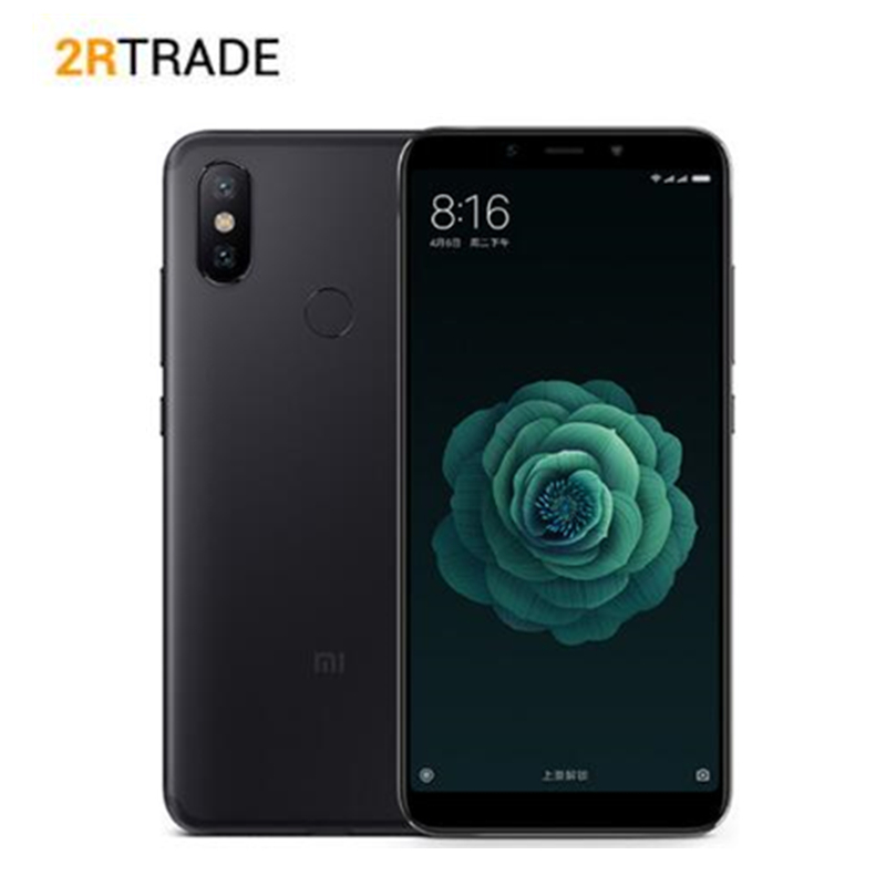 Original Xiao mi mi 6x4/6g ram 64G rom 5.99 18:9 tela cheia Snapdragon 660 Octa Núcleo 20MP AI Câmera Dupla 4g LTE Celular
