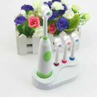 Electric Toothbrush Waterproof Revolving Toothbrush 3 Brush Heads For Kids Hot