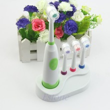 Electric toothbrush waterproof revolving toothbrush + 3 Brush Heads For Kids Hot
