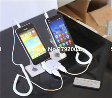 10pcs/lot  Anti-theft 2 USB ports mobile phone alarm display