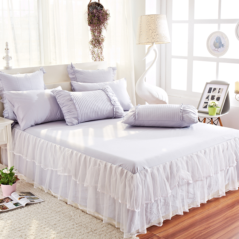 grey lace bedspread skirt queen bed ruffled bedspread bed skirt set bedspread lace bed skirt. Black Bedroom Furniture Sets. Home Design Ideas