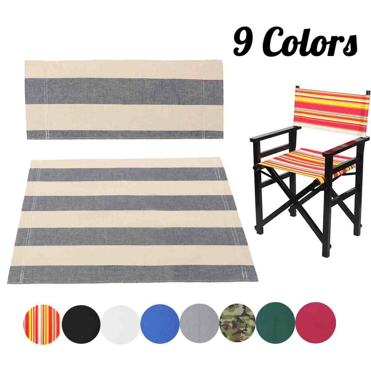 Enjoyable High Quality Red Orange Black For Directors Chairs Cover Caraccident5 Cool Chair Designs And Ideas Caraccident5Info