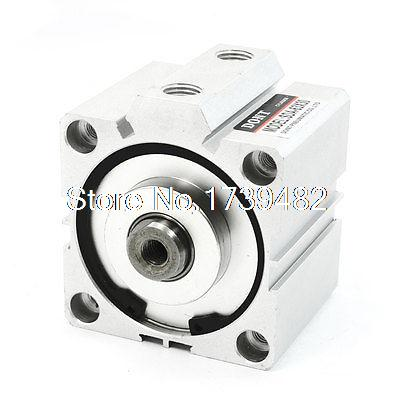 SDA63X30 63mm Bore 30mm Stroke Double Acting Air Cylinder 72mmx75mmx85mmSDA63X30 63mm Bore 30mm Stroke Double Acting Air Cylinder 72mmx75mmx85mm