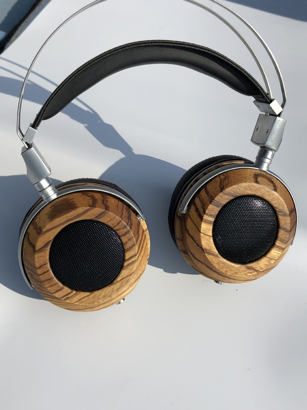 40mm 50MM 53mm headphone shell wooden shell 50mm headset shell without driver and cable