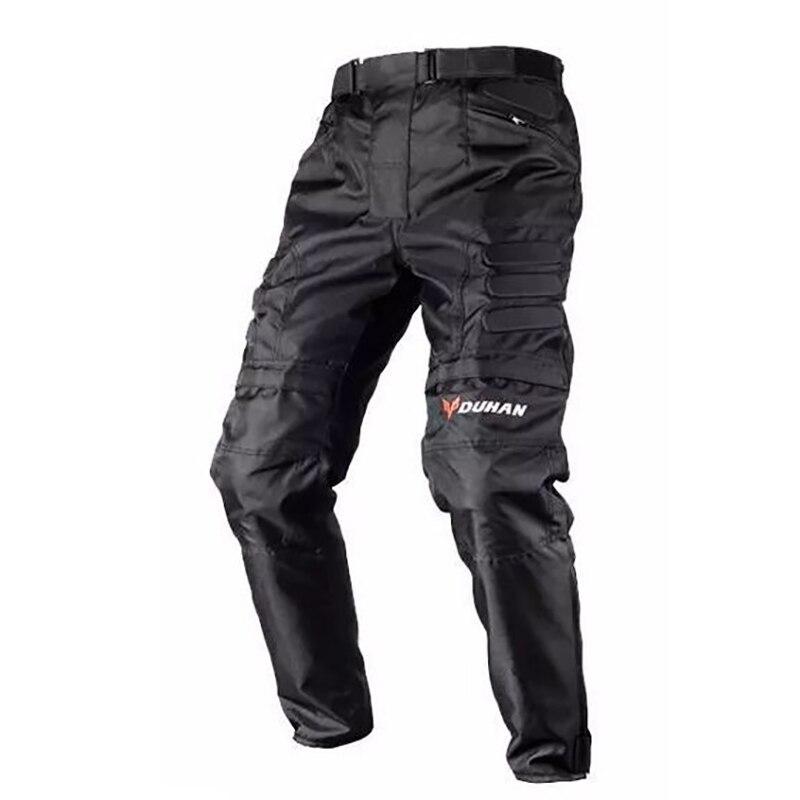 Duhan motocicleta à prova de vento equitação calças motocross fora de estrada de corrida esportes joelho calças esportivas de proteção moto bicicleta