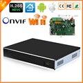 4 К Выход HI3536 4MP 32CH CCTV Nvr H.265/H.264 32CH 4MP/24CH 5MP ONVIF Сетевой Видеорегистратор 4 SATA Порта По Электронной Почте оповещения