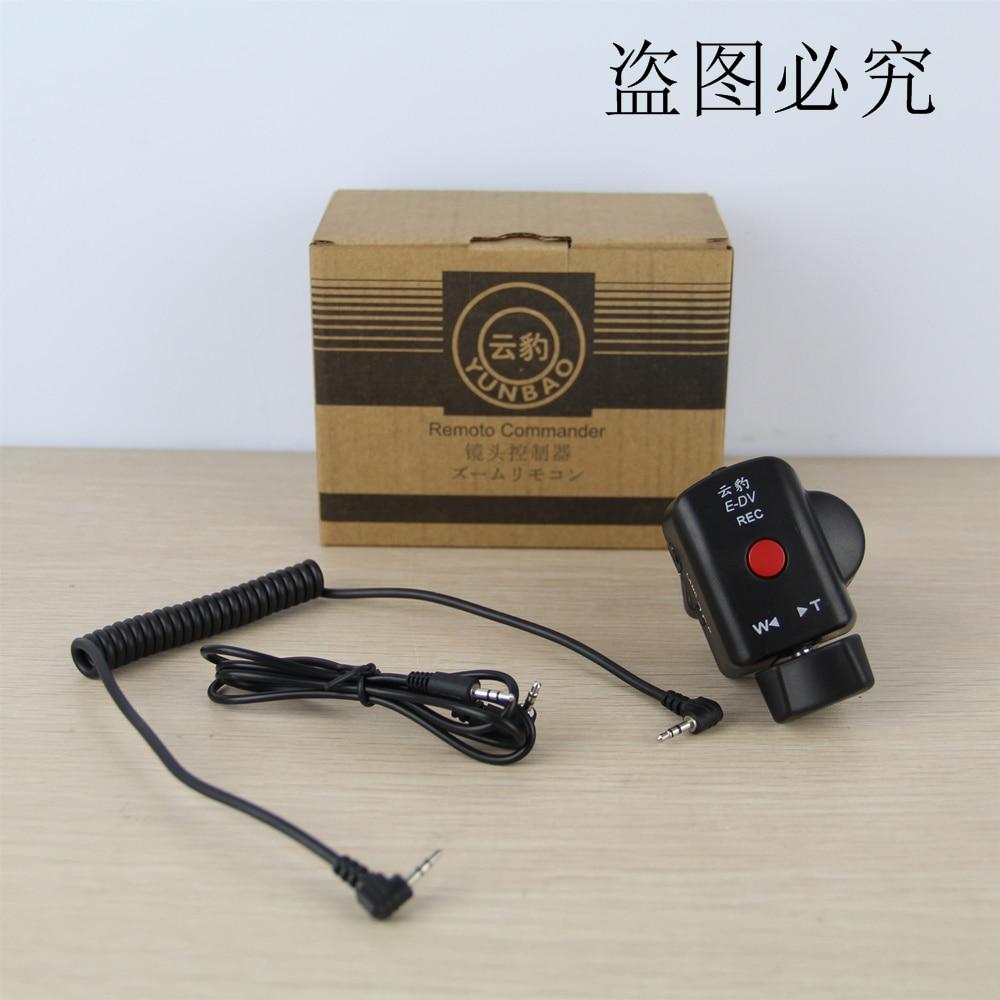 Профессиональные видеокамеры с управлением зумом для Panasonic и Sony LANC A1C 150P 180A 130AC DV ACC пульт дистанционного управления