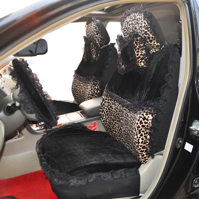 Leopard Print Car Seat Cover Smart Garments Four Seasons General