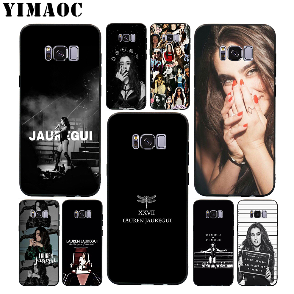 YIMAOC <font><b>Lauren</b></font> Jauregui Soft Case for Samsung Galaxy S10 S10e S9 S8 A6 Plus S7 S6 Edge A7 A5 A3 J6 Note 9 8 image