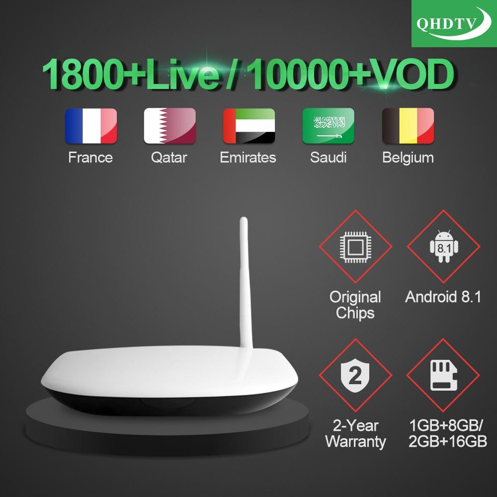 Android 8 1 Smart TV Box RK3229 Quad Core 4K Media Player QHDTV IPTV Subscription 1