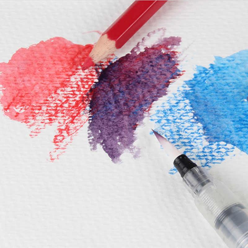 12 แผ่นกระดาษสีน้ำSketch Bookชุดสำหรับสีน้ำวาดภาพวาดไดอารี่Sketchbookโน๊ตบุ๊คโรงเรียนสำนักงานเครื่องเขียน