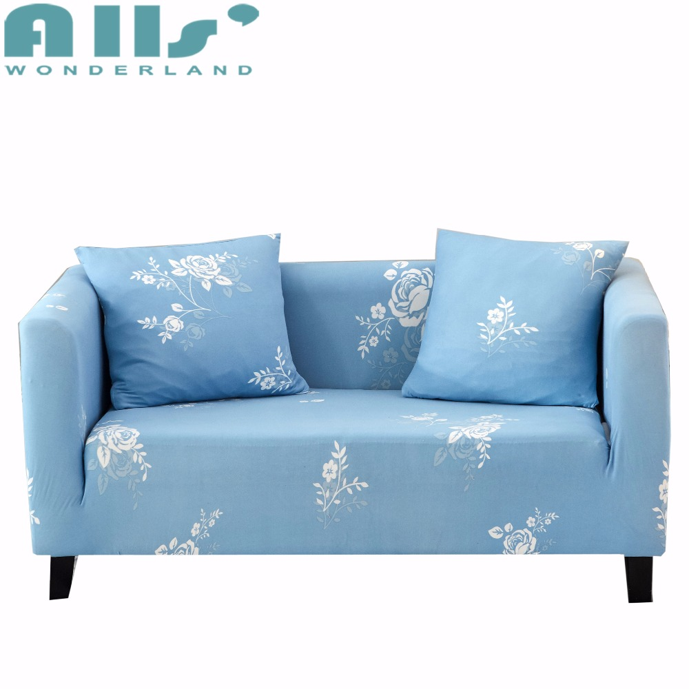 New Slipcover Stretch Sofa Cover Sofa With Loveseat Chair: Elastic Floral Sofa Cover Slipcover Tight Wrap All