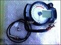 4pcs/lot white panel  Backlight LCD Digital Motorcycle Speedometer Odometer Motor Bike Tachometer Koso Similar max speed 299KM