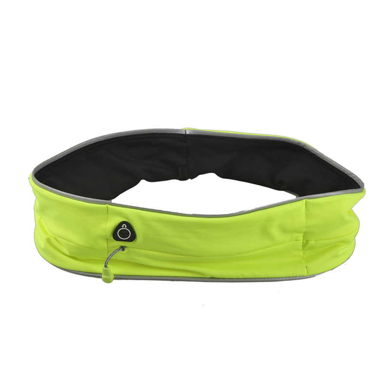 Daddy Chen Brand Unisex Outdoor Sport Waist Bag Cycling Jogging Running Reflective Strip Bags Malathon Mobile Phone S M L XL