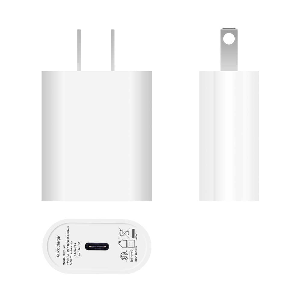 size 40 71932 8cc6b ZMonlinery 18W Type-C Wall Charger Power Adapter with Power Delivery for  Apple ipad iPhone X 8 XS iPad Pro USB-C PD 3.0 Charger