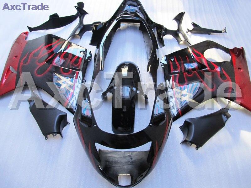 Black Moto Fairing Kit For Honda CBR 1100XX CBR1100XX Super Black Bird 1996 - 2007 96-07 Fairings Custom Made Motorcycle C287 fit for honda cbr 1100xx super black bird 1996 2007 injection abs plastic motorcycle fairing kit bodywork cbr1100xx 96 07 cb09