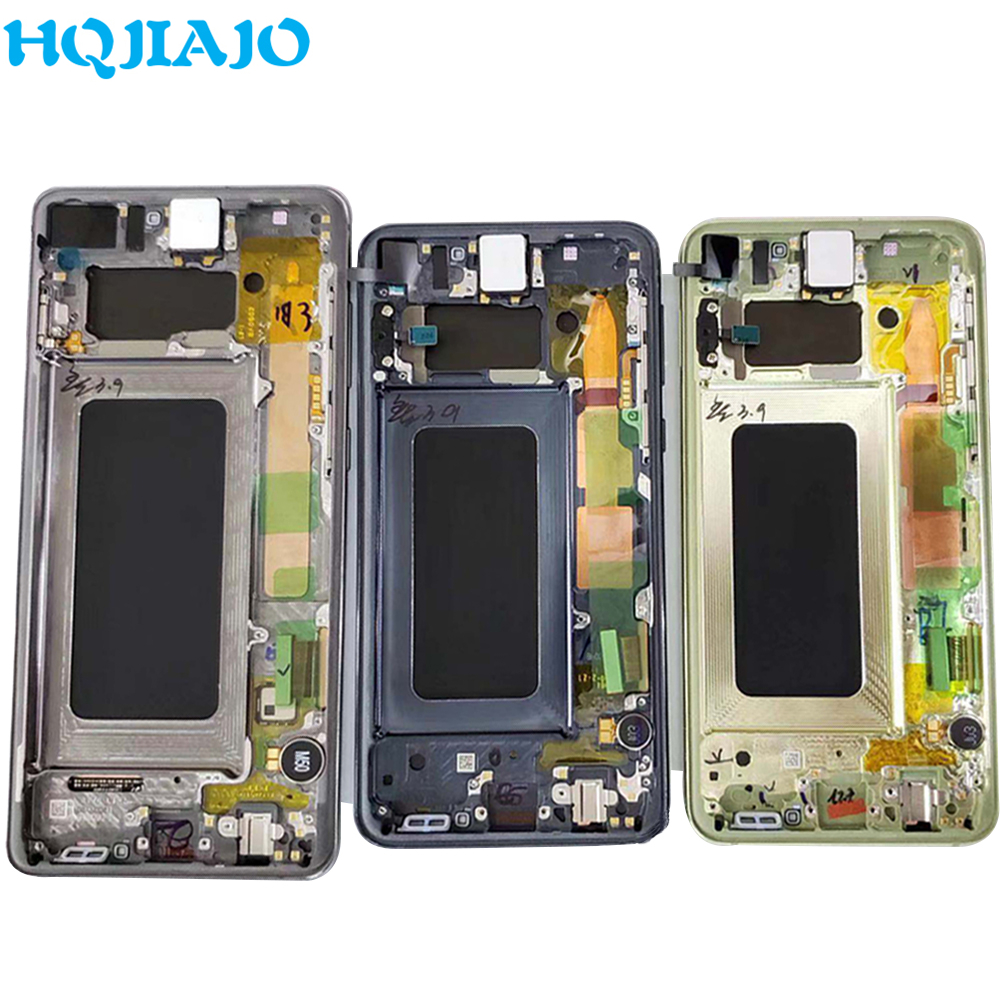 New Original LCD Screen For Samsung S10 S10e LCD Display Touch Screen Digitizer For Samsung Galaxy