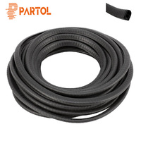 Partol 8M Universal Car Anti Collision Door Edge Scratch Protector Strip Sealing Guard Trim Automobile Door Stickers Decoration