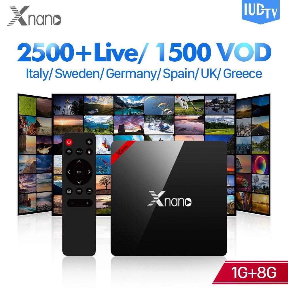 Home Audio & Video Original 1 Year Iptv Included Esuntv X96 S905x Europe Iptv Spain Portugal Germany United Kingdom Albania Ex-yu Xxx Iptv Set Top Box