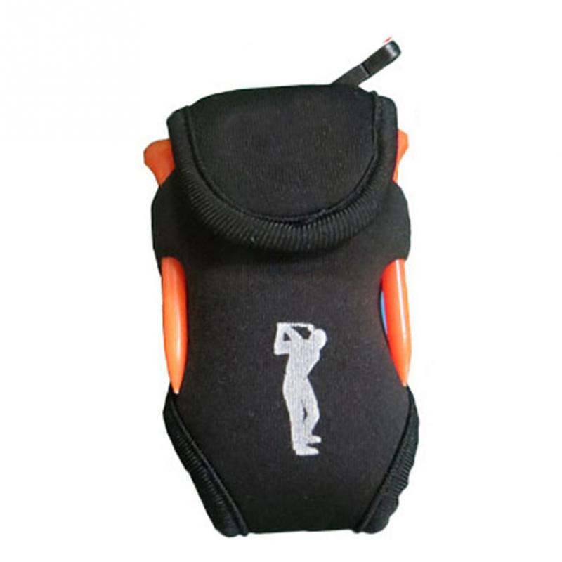 1Pcs Portable Mini Golf Bag 4 Tees And 2 Balls Holder Mini Waist Bag Outdoor Sports Tool Pack Balls Tees Golf Accessories