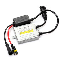 1pc 12v 55w Xenon Ballast Fast Bright F5 Digital Conversion Hid Ballast Replacement For Car