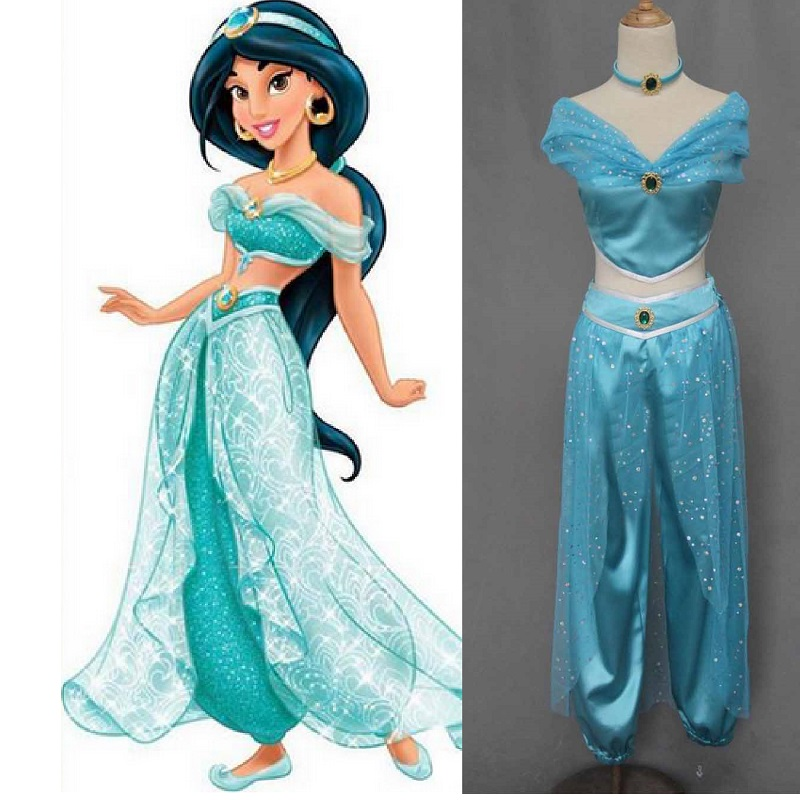 disney princess jasmine halloween costume