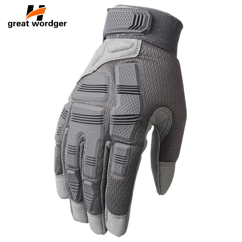Tactical Gloves Hiking Cycling Full Finger Guantes Military Army Shooting Airsoft Bicycle Combat Hunting Protective Gloves Men