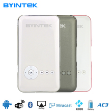 BYINTEK MD323 Portable Video Micro Wifi DLP Mini Teléfono Inteligente S6 Android USB Proyector Proyector Beamer Para Teléfono Inteligente Android