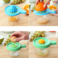 Safe ABS 6in1 Hand Juicer Grind Egg White Separator Kitchen Helper Multifunctional Baby Food Fruit Mills