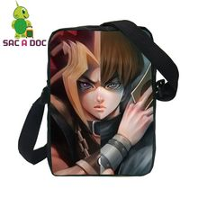 Anime Yu Gi Oh Yugi Kaiba Split Messenger Bags for Men Mini Crossbody Bags Kids Boys Travel Shoulder Bags(China)