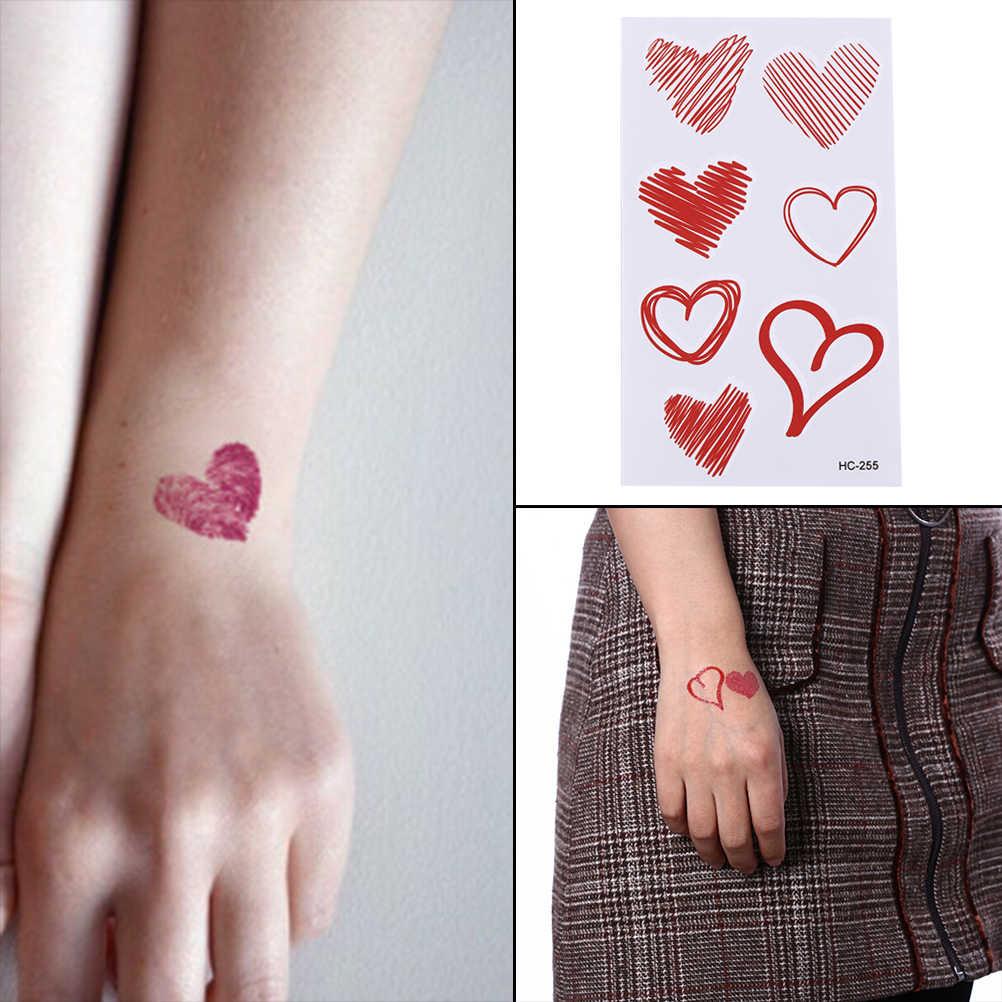 водонепроницаемые временные фальшивые татуировки наклейки отпечаток пальца
