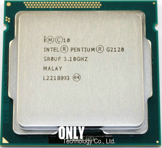 Intel Pentium G2120 3.10GHz Dual Core SR0UF Socket 1155 Ivy Bridge CPU Processor