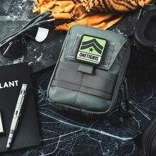 OneTigris MOLLE Borse Multiuso Tattico Organizzatore Medico Tasche Gadget EDC Utility Bag Kit di Primo Soccorso di Campeggio Trattamento Emergente Del Sacchetto