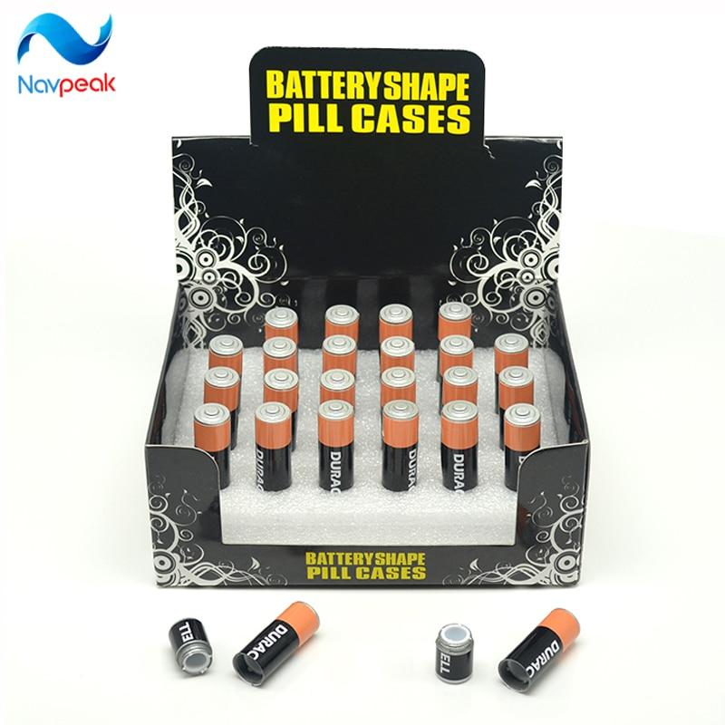 2 unid Envío Gratis pequeña Batería Secreto Stash Diversión Caja - Organización y almacenamiento en la casa