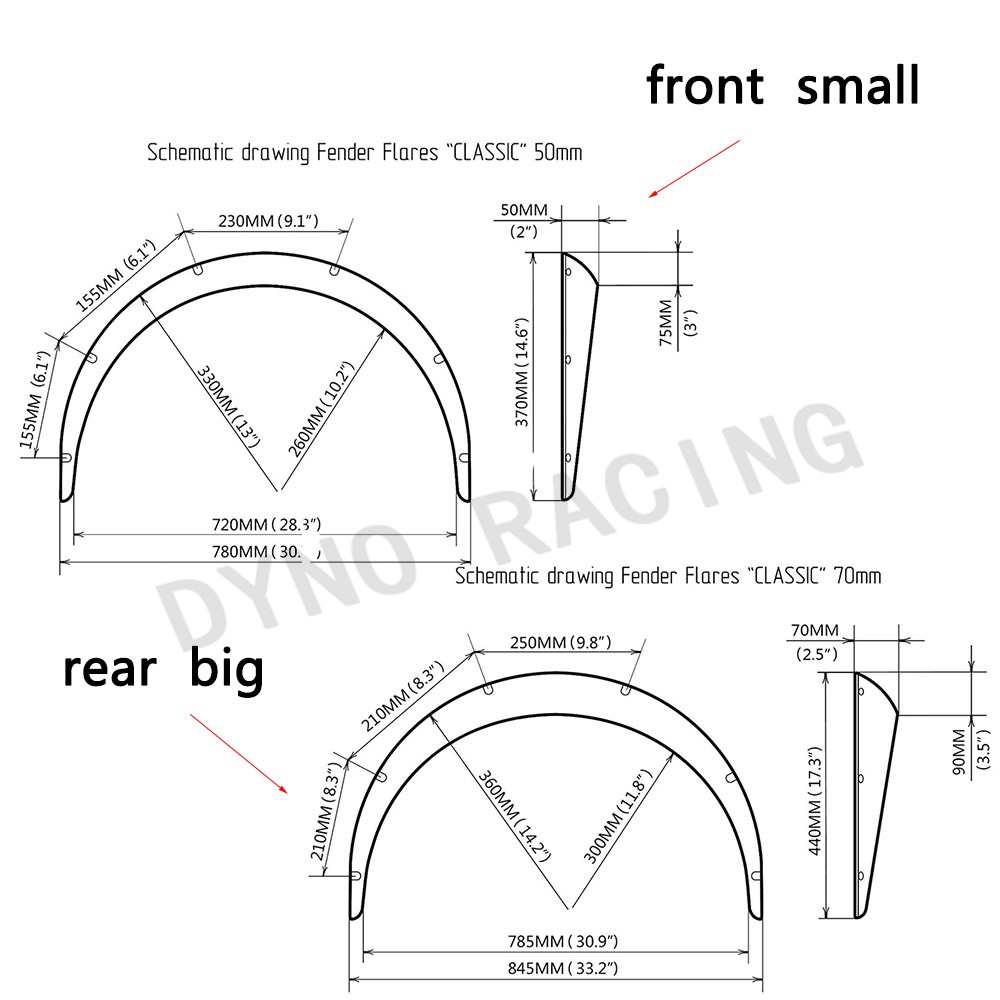 us $7 36 35% off 4 pcs car fender flares arch wheel eyebrow protector mudguards sticker universal ot197 in mudguards from automobiles & motorcycles on car spoiler diagram car fender diagram #8