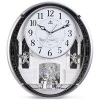 16 дюймов большие настенные часы Современный Дизайн silent Винтаж home decor большие настенные часы horloge murale Reloj де сравнению клок золотистый и черны