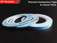 1x 5mm 20M 0 25 Double Sided Thermally Conductive Adhesive Transfer Tapes For Chip Soft PCB
