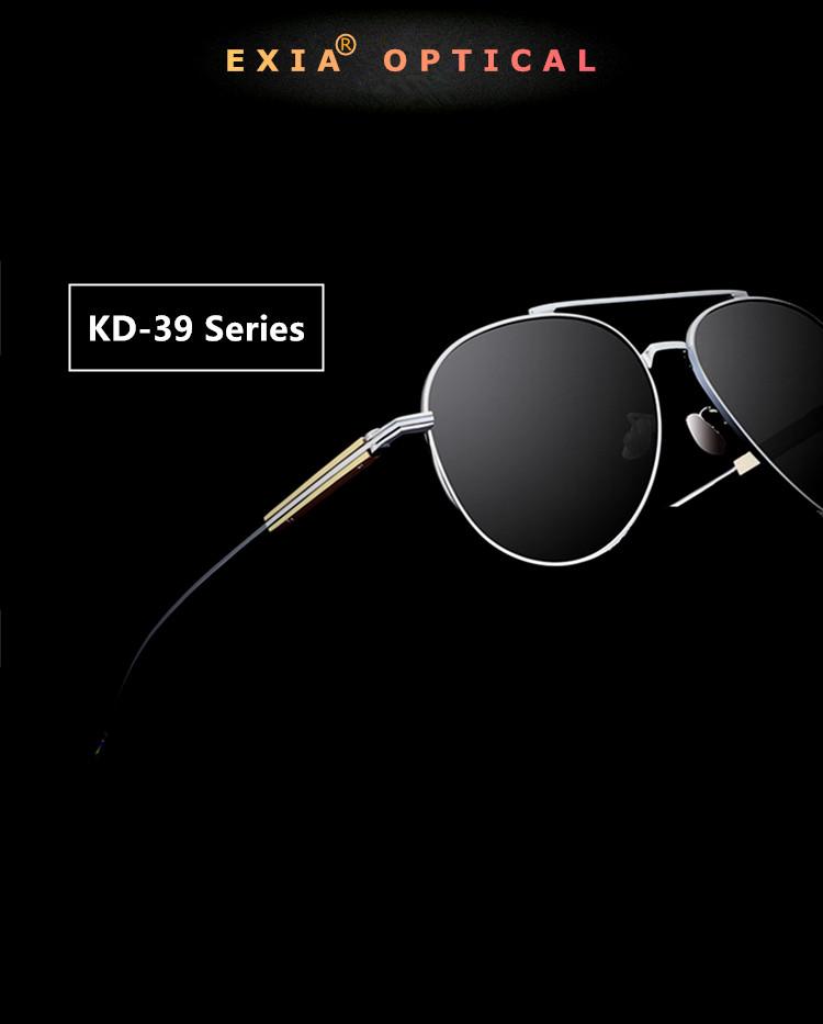 446cec23c88 Myopia Presbyopia Optical Polarized UV400 CR-39 Lenses. Men Optical  Sunglasses KD-39 Series