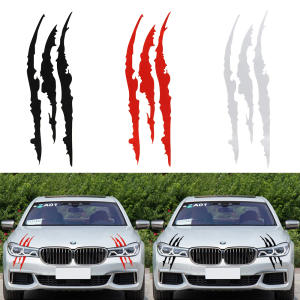 40 cm * 12 cm Vinyl Decal Car Styling Car Reflective Monster Sticker