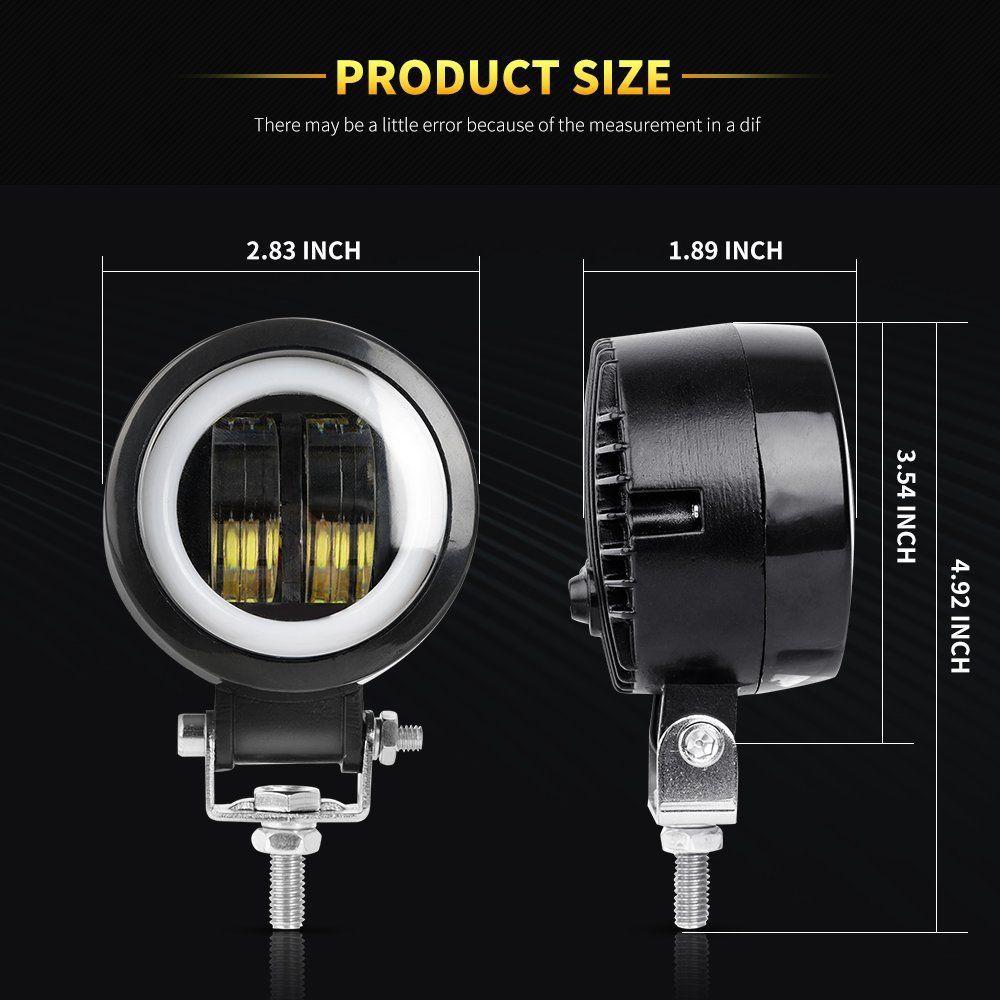 12V 24V 6500K luces LED