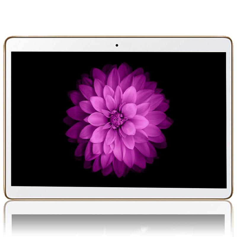 2018 Date 10.1 pouce Tablet PC Android 7.0 4 gb RAM 32 gb ROM 8 Core Double Caméras 5.0MP IPS téléphone Google Comprimés Cadeaux MT8752