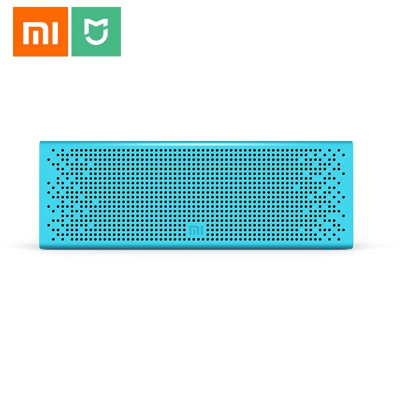 Xiao mi Bluetooth haut-parleur stéréo MP3 lecteur de musique sans fil mi ni Portable Bluetooth haut-parleurs prise en charge mains libres TF carte AUX-in