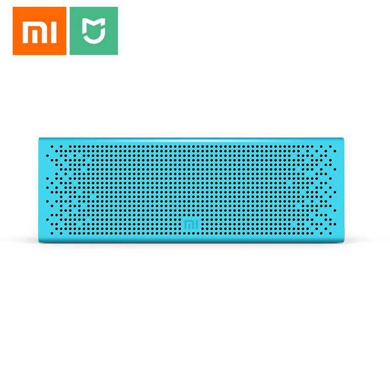 Xiaomi Mi Bluetooth Speaker Stereo MP3 Music Player Wireless Mini Portable Bluetooth Speakers Support Handsfree TF Card AUX-in original xiaomi mi bluetooth speaker metal square box mini wireless stereo portable mp3 player handsfree bluetooth 4 0