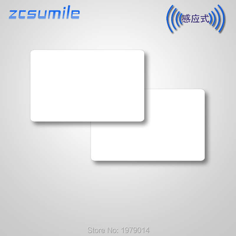 10 Pcs/lot  13.56Mhz ISO15693 ICODE SLIX  Rfid   IC  Blank White Card